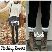 Stocking tebal 880denier (full tights / legging) 4warna