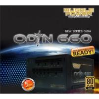 Muscle Power Odin 660W Gold Full Modular - Seasonic X-Series OEM