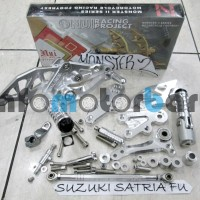 Underbone Nui Monster 2 Suzuki Satria F 150 - Silver
