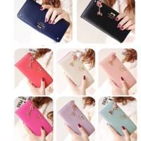 Dompet fashion cewek wanita import korea Zipper wallet woman Lucu