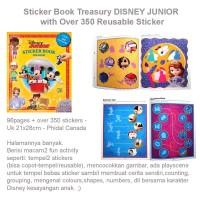 Sticker Book Treasury DISNEY JUNIOR (US-FUN-STC-DISJUN)