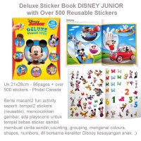 Deluxe Sticker Book DISNEY JUNIOR (US-FUN-STC-DLXDISJUN)