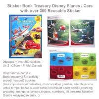 Sticker Book Treasury Disney Planes / Cars (US-FUN-STC-PLNCR)