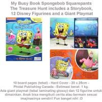 My Busy Book Spongebob Squarepants The Treasure Hunt (US-ACT-BSY-SPON)