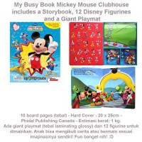 My Busy Book Mickey Mouse Clubhouse (US-ACT-BSY-MICK)