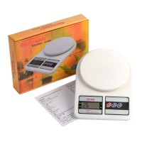 Timbangan dapur digital kitchen scale weight berat masakan bahan kue cookies akurat akurasi kalibrasi qc passed