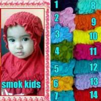 Jilbab Smok Kids Bunga