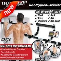 Harga iron gym alat fitness praktis dirumah kebugaran kesehatan massa | antitipu.com