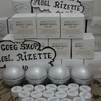 Jual Moel Rizette Whitening Cream plus 2nd Generation Full Jar 50gr Murah