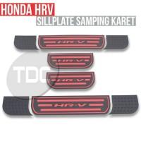 Sill Plate samping Karet Khusus Honda HRV Variasi atau Aksesoris