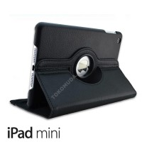 Rotating case iPad mini 1 2 3 Retian 4 stand support Rotari Leather