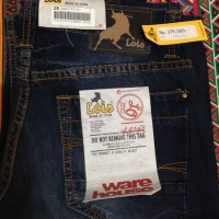 Celana Jeans Pendek Lois Original (II)