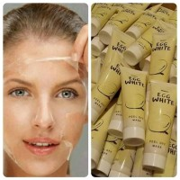 EGG WHITE PEEL OFF MASK / MASKER PUTIH TELUR