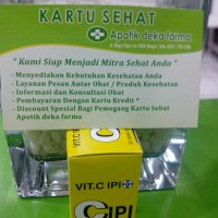 Vitamin C IPI : Vitamin C Dosis Harian
