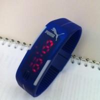 Harga jam tangan led sport adidas nike puma termurah biru | HARGALOKA.COM