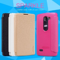 LG Leon H324 Flip Case Nillkin Sparkle Series (Flip Cover LG Leon)
