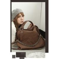 harga Tas Tangan Hobo Fashion Wanita Korea Import Coklat Pergi Jalan Mall Tokopedia.com