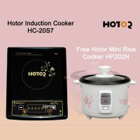 Hotor Induction Cooker HC-20S7 Free Hotor Mini Rice Cooker HP202N