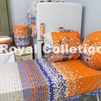 harga Kitchenset / Set Taplak meja makan / SET DAPUR CATARINA ORANGE Tokopedia.com
