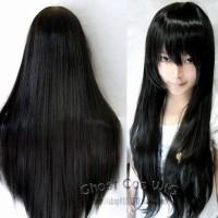 Wig Base Black,Long Straight,Import Wig,Taobao,Freebrand Wig,Cosplay