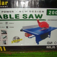 harga Gergaji Kayu Meja Table Saw 8 Inch Merk Mollar Teknologi Germany Tokopedia.com