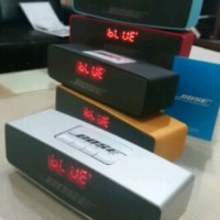 Jual Speaker portable BOSE LCD ( Bluetooth, Microsd, Usb, Fm Radio ) Murah