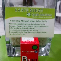harga Vitamin B1 Ipi :  Vitamin B1 Mencegah Beri-beri Tokopedia.com