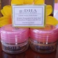 Jual Adha / a-DHA Herbal Cream pink/hijau ASLI sdh BPOM !! (pket non serum) Murah