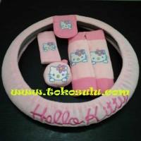 Jual Bantal Mobil 8in1 Hello Kitty Murah