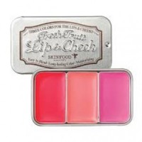 The Skinfood Fresh Fruit Lip Cheek (Three Color) No 2 Strawberry