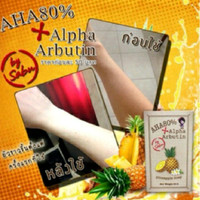 PINEAPPLE SOAP 80 % AHA ALPHA ARBUTIN