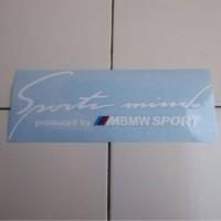 Sticker Sportmind BMW Sport Putih (BMW 05)