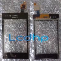 Touchscreen TS Sony EXperia Xperia Miro ST23i ST-23i Hitam Black