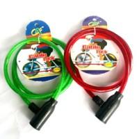 Gembok Kunci Pengaman Rantai Rante Sepeda Motor Helm