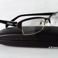 Frame Kacamata Import New & Trendy ( Nikon Titanium )