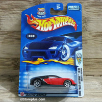 HOT WHEELS 2003 BUGATTI VEYRON RED FIRST EDITIONS 18/42