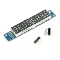 MAX7219 8-Digit Red LED Digital Tube Display Module Board For Arduino