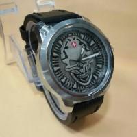 jam tangan swiss army skull(rolex guess expedition fossil hublot cat
