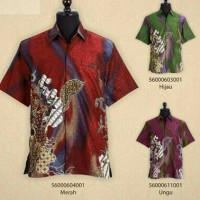 kemeja batik/hem/batik premium/batik sutra/baju sutra/eksklusif/jogja