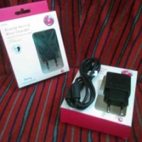 TRAVEL CHARGER SONY XPERIA / CHARGER SONY X-PERIA /ORIGINAL/BERGARANSI