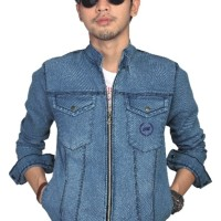 Jual jaket jeans cowok/ jean pria/denim laki-laki/ jaket levis BDE 054 Murah