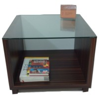 Meja Murah : Clear Cute Furniture - Coklat - 45 x 60 x 60