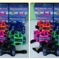 harga Roda Sepatu Nyala Rollerblade Inline Skate Flashing Roller Roda Tempel Tokopedia.com