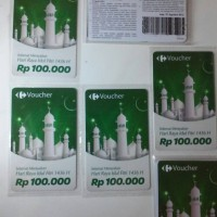 harga Voucher Carrefour Rp 100.000 Edisi Idul Fitri Cocok Untuk Kado Tokopedia.com
