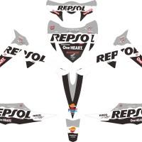 harga Striping Honda Revo Repsol Black Tokopedia.com