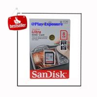 harga Memory Card SD Card Sandisk 8GB, 40 Mbps, ORIGINAL Tokopedia.com