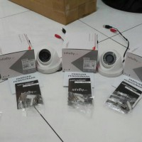 Paket 4 unit H21Infinity indoor CCTV. TVL700 asli tajam!