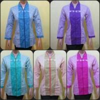 Blouse Batik/blus Batik/batik Jogja/batik Wanita/batik Modern
