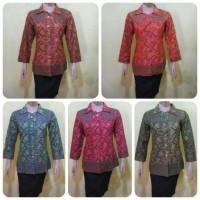 Blouse Batik/blus Batik/batik Wanita/batik Jogja/batik Modern