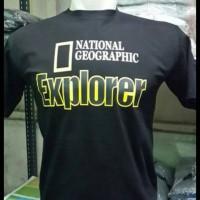 Tshirt/T shirt/Kaos National Geographic Explorer